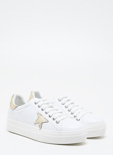 F By Fabrika Kadın Beyaz Sneakers SALSA Beyaz